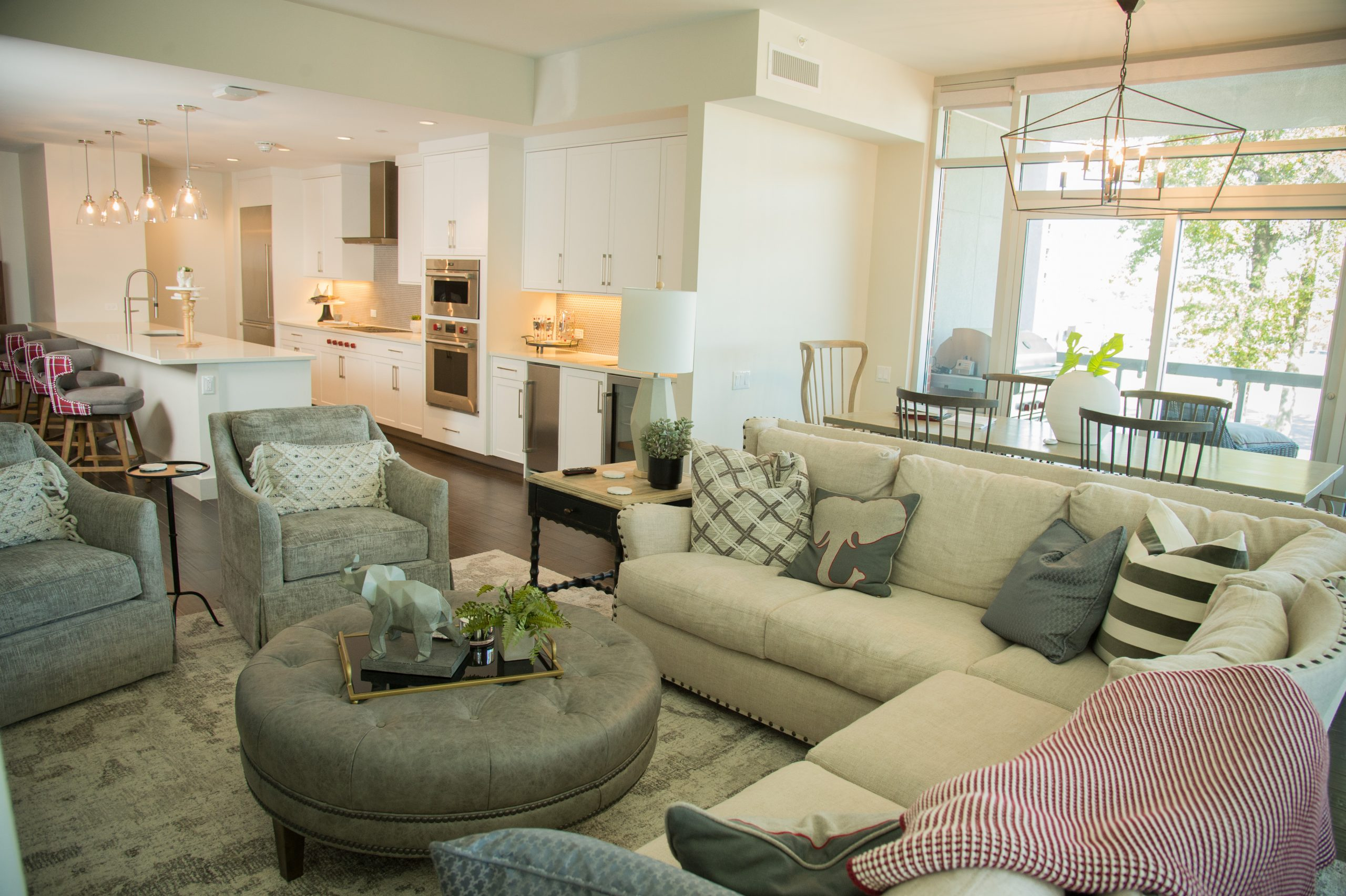 Large, Spacious Floorplans for celebrating another Tide Victory